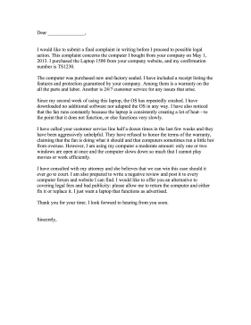 how to write an anonymous complaint letter about your boss